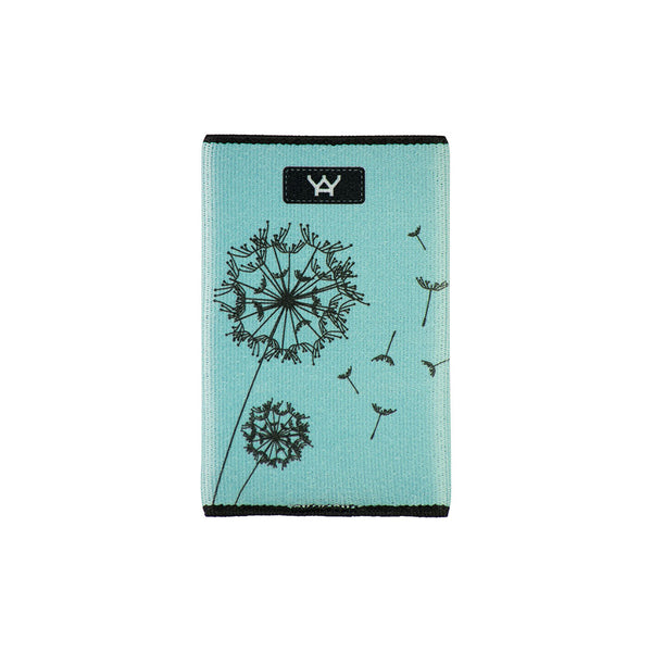 YaYwallet Credit Card Holder - Day Dreaming Blue