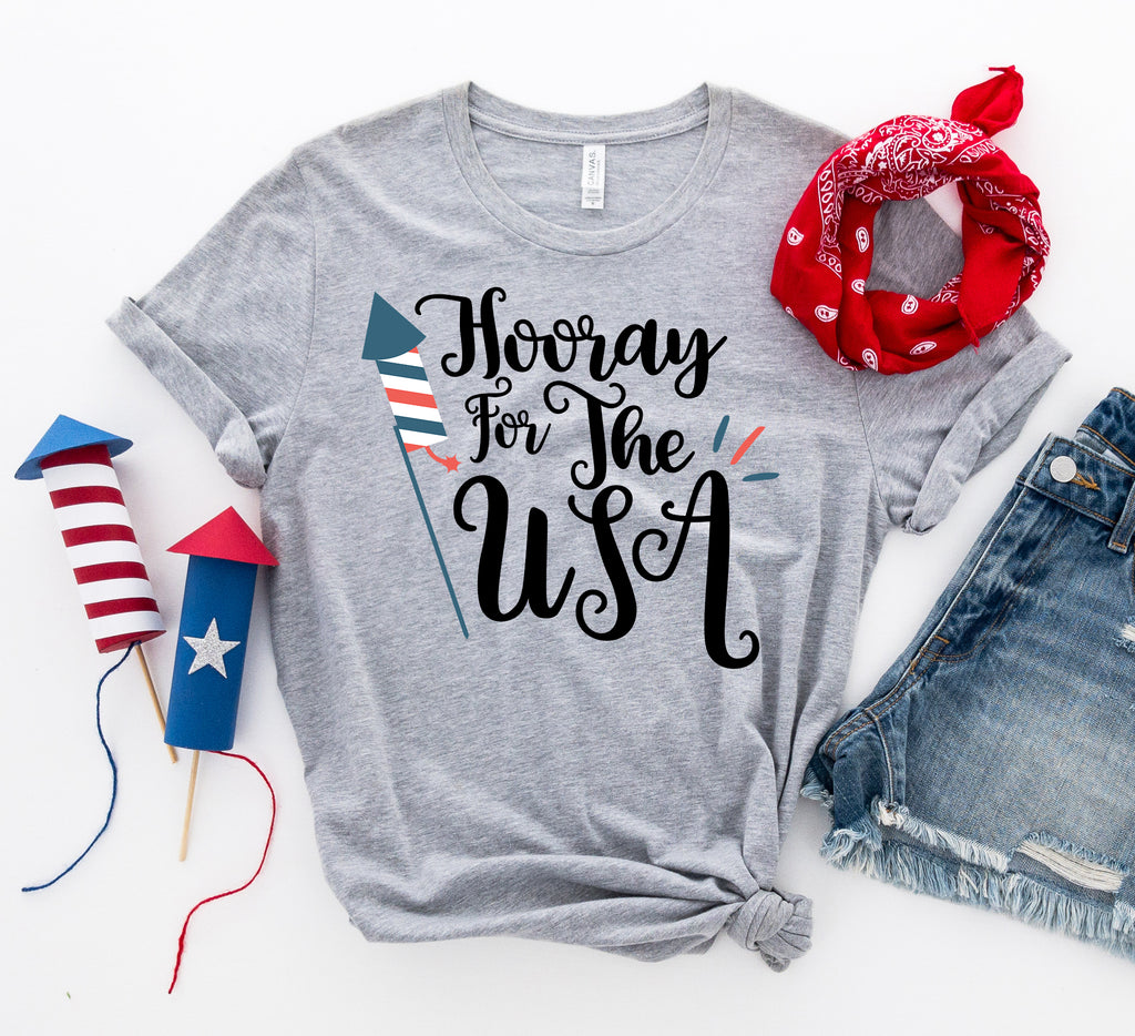 Hooray for the USA T-shirt