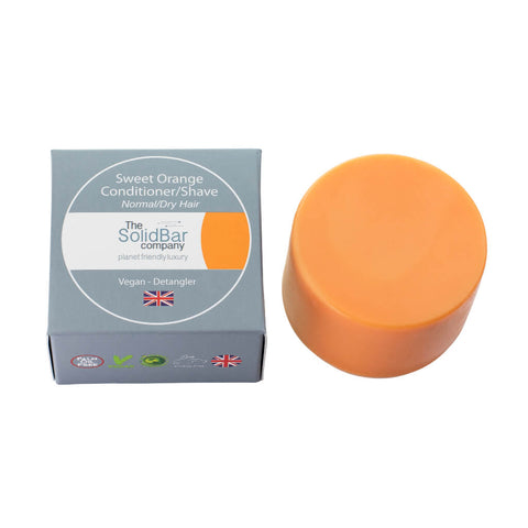 Sweet Orange Conditioner and Shave Bar with box