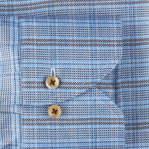 BLUE/BROWN PATTERN 8071