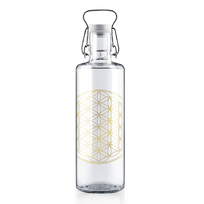 "Soulbottle 1l ""Flower of life"""
