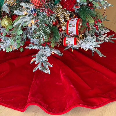French Velvet Tree Skirt