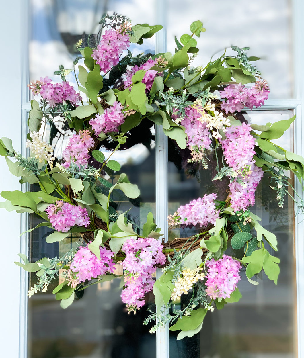 Lilac and Berry Wreath