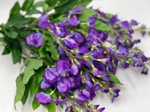 Purple Wisteria Bush 22""