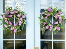 Load image into Gallery viewer, Lilac and Berry Wreath