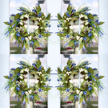 Load image into Gallery viewer, Lavender Thistle Wreath