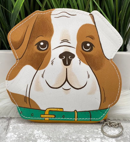 Bulldog Zipper Pouch