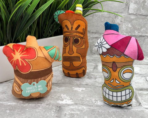 3 Piece Tiki Drink Toys