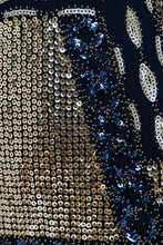 Load image into Gallery viewer, Fitted Sequin Mini Dress