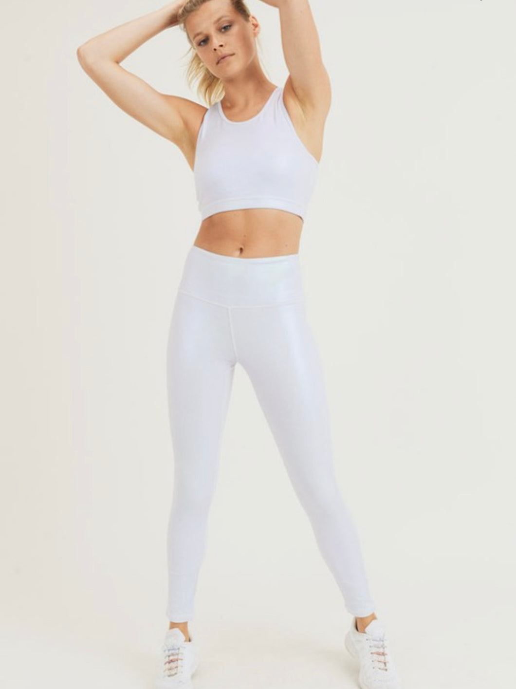 Pearlescent Foil Leggings