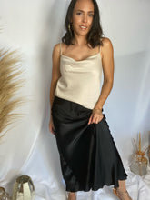 Load image into Gallery viewer, Satin Maxi Skirt