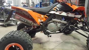 KTM450 SX (QUAD ) Exhaust