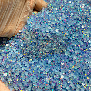 Blue Skies AB Jelly Resin Rhinestones