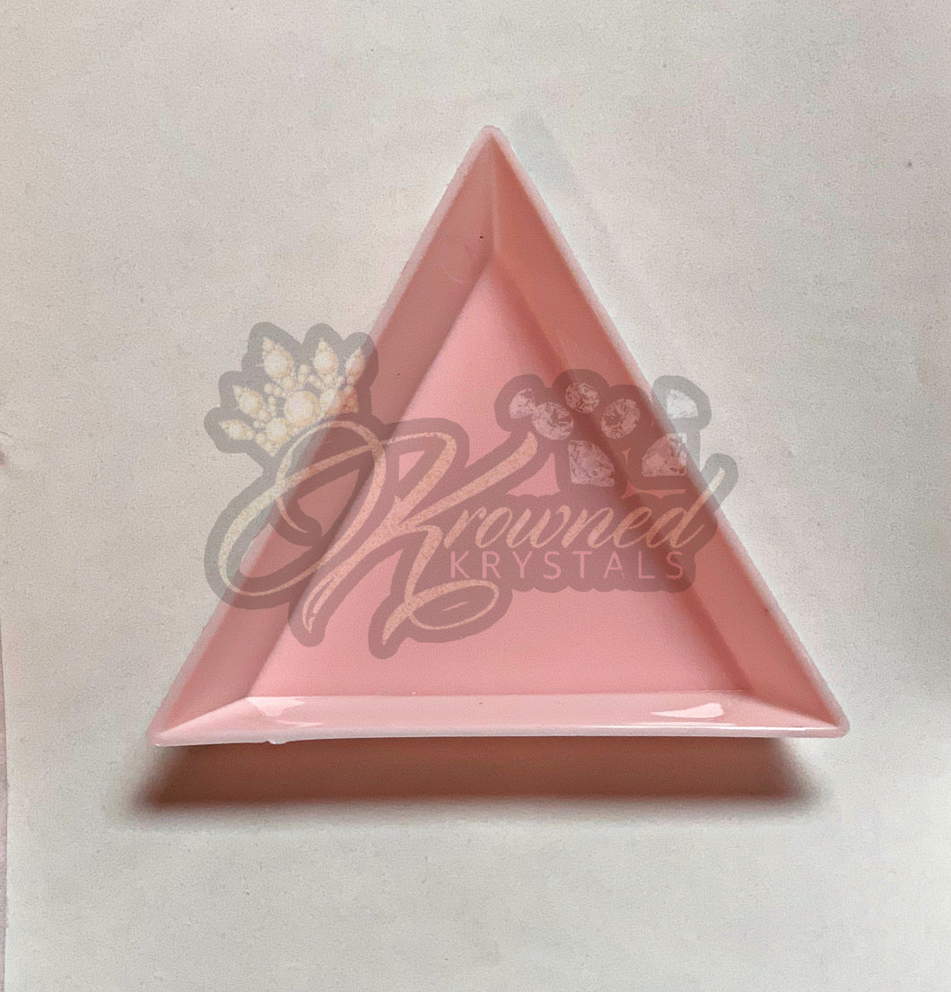 PINK Triangle Shaker Tray