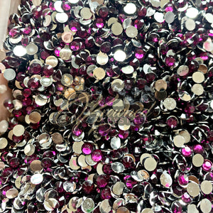 Plum Princess Resin Rhinestones