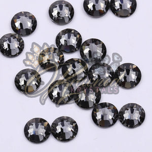 SUPREME BLACK DIAMOND HOTFIX GLASS RHINESTONES