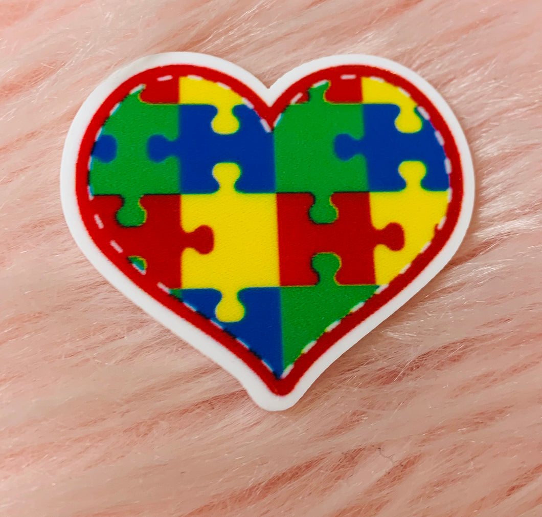 *Resin PLANAR* Autism Heart