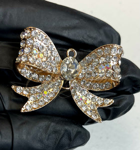 Krystal Gold Bow Alloy