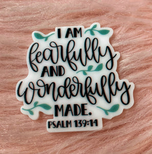 *Resin PLANAR* Fearfully and Wonderfully Made