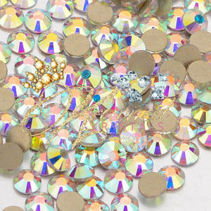 Crystal AB Glass Rhinestones