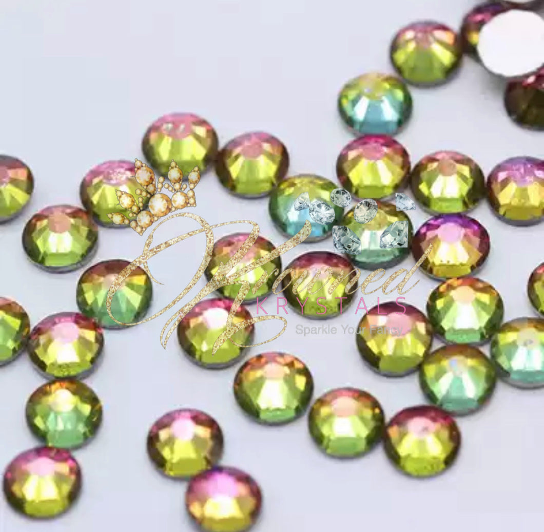Rainbow Glass Rhinestones