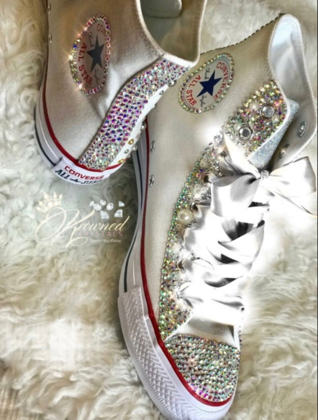 Bling High Tops (Size 9)