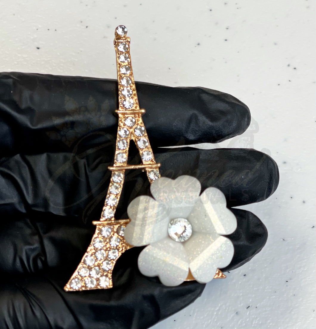 Flower Eiffel Tower Alloy