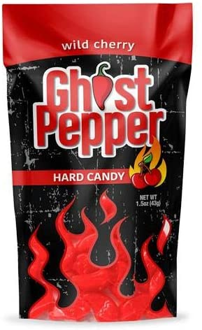 Wild Cherry Ghost Pepper Hard Candy