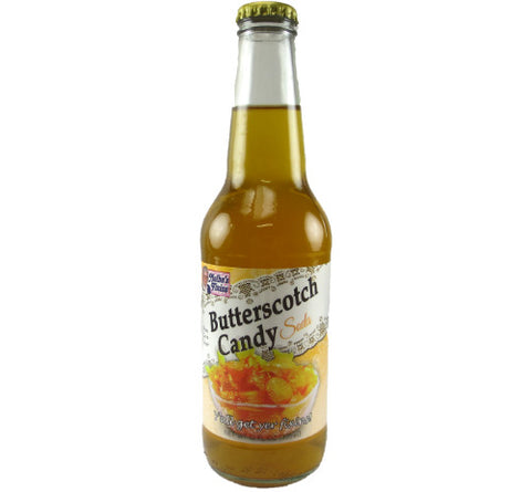Butterscotch Soda (Bottle)