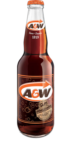 A&W Rootbeer (Bottle)