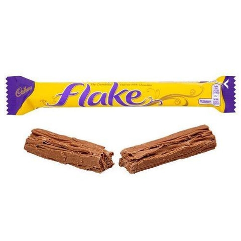 British Cadbury Flake Bars