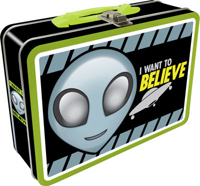 Believe In Aliens Lunchbox (Large)
