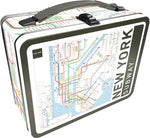 New York Subway Map Lunchbox