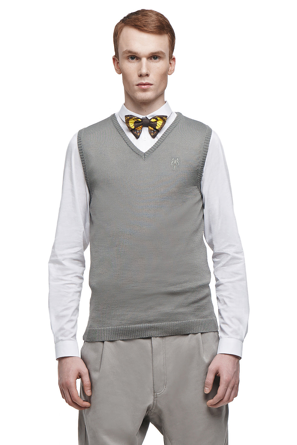 LEMAIRE Knitted Waistcoat - One Wolf