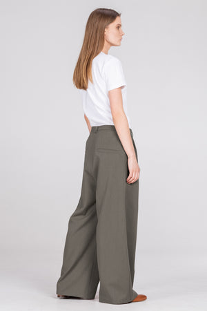 ABNORMAL classic pants grey - One Wolf