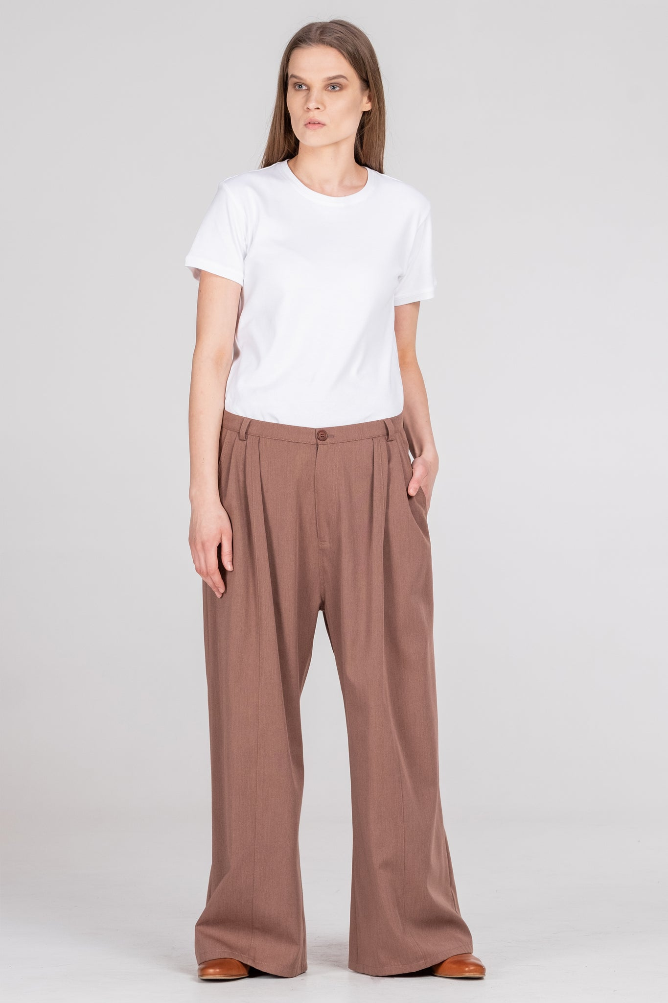 ABNORMAL classic pants russet - One Wolf