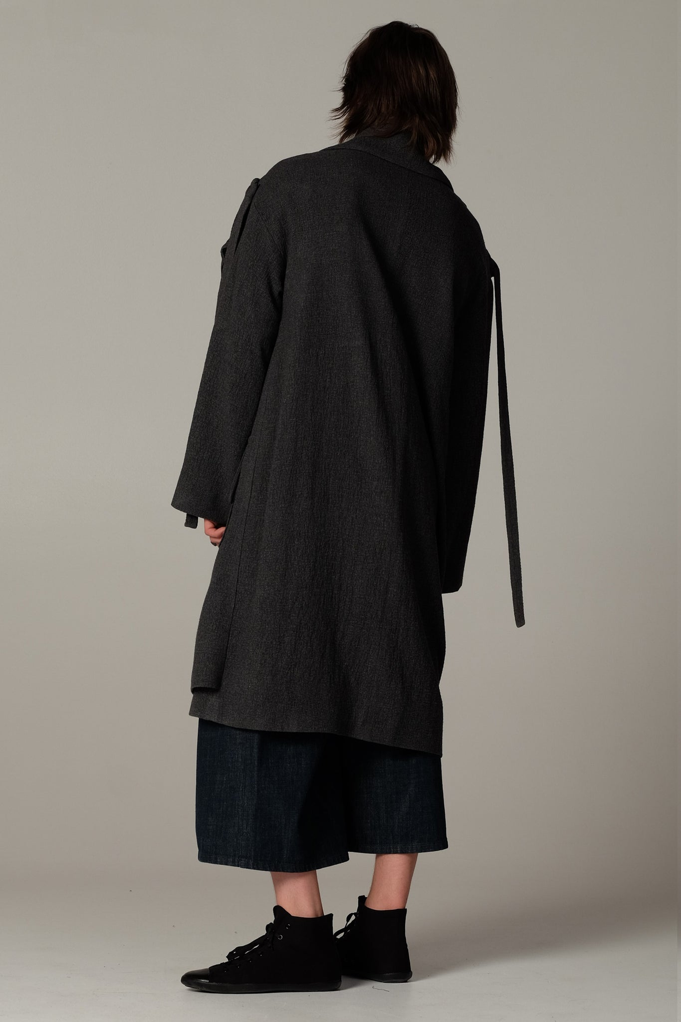 OUTSIDER wool coat - One Wolf
