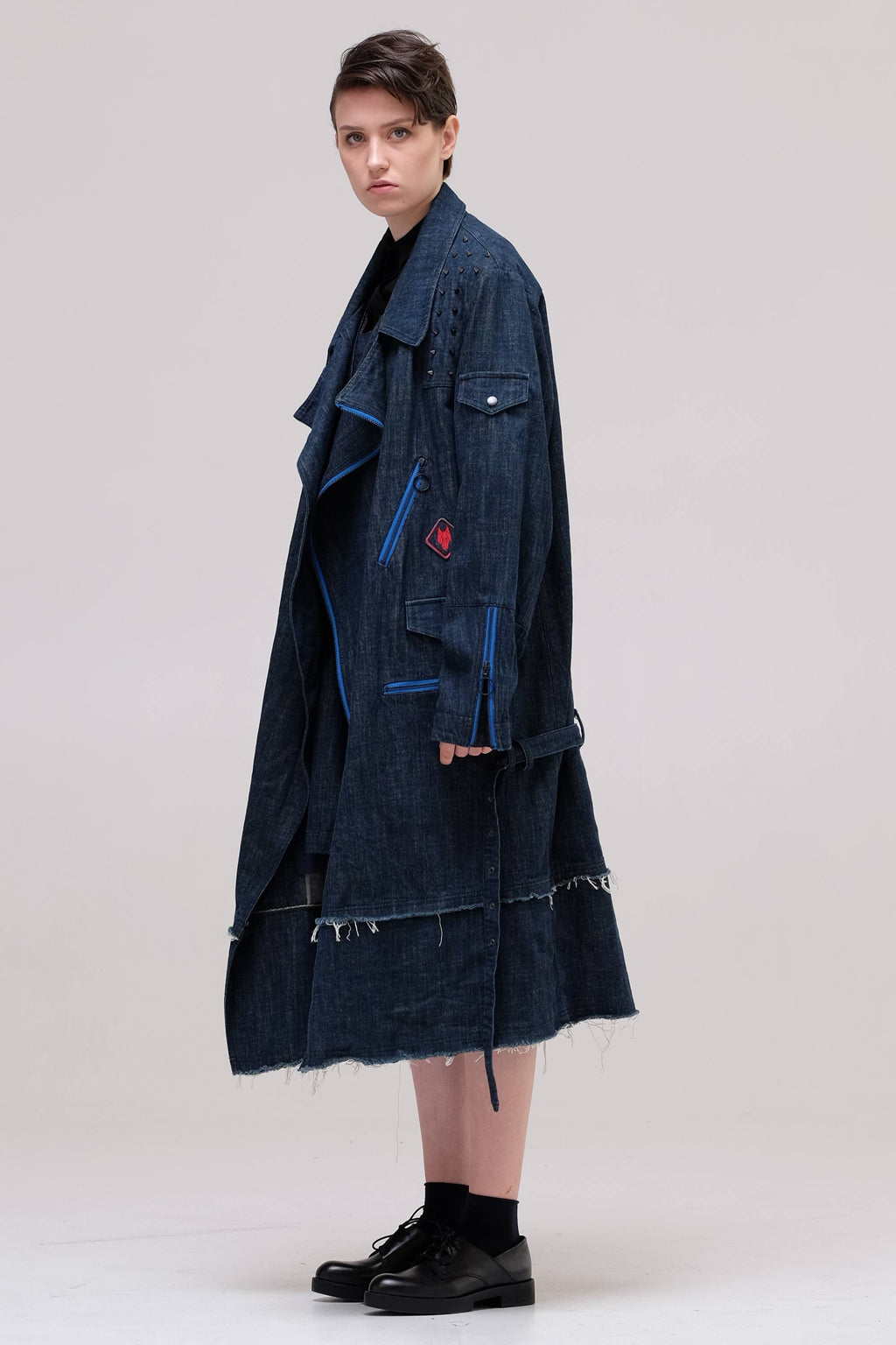 BLACK CELEBRATION Denim coat - One Wolf