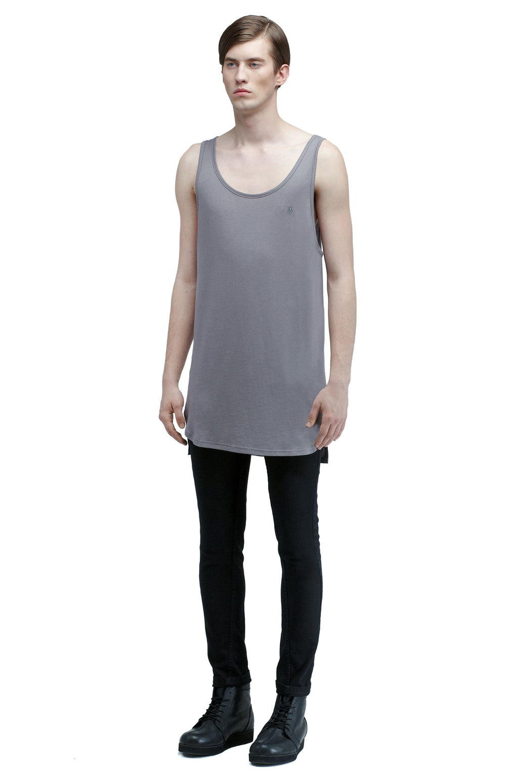 UNIFORM Tank Top 02 Grey - One Wolf