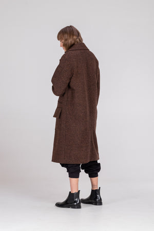 NORMAL unisex coat Brown - One Wolf
