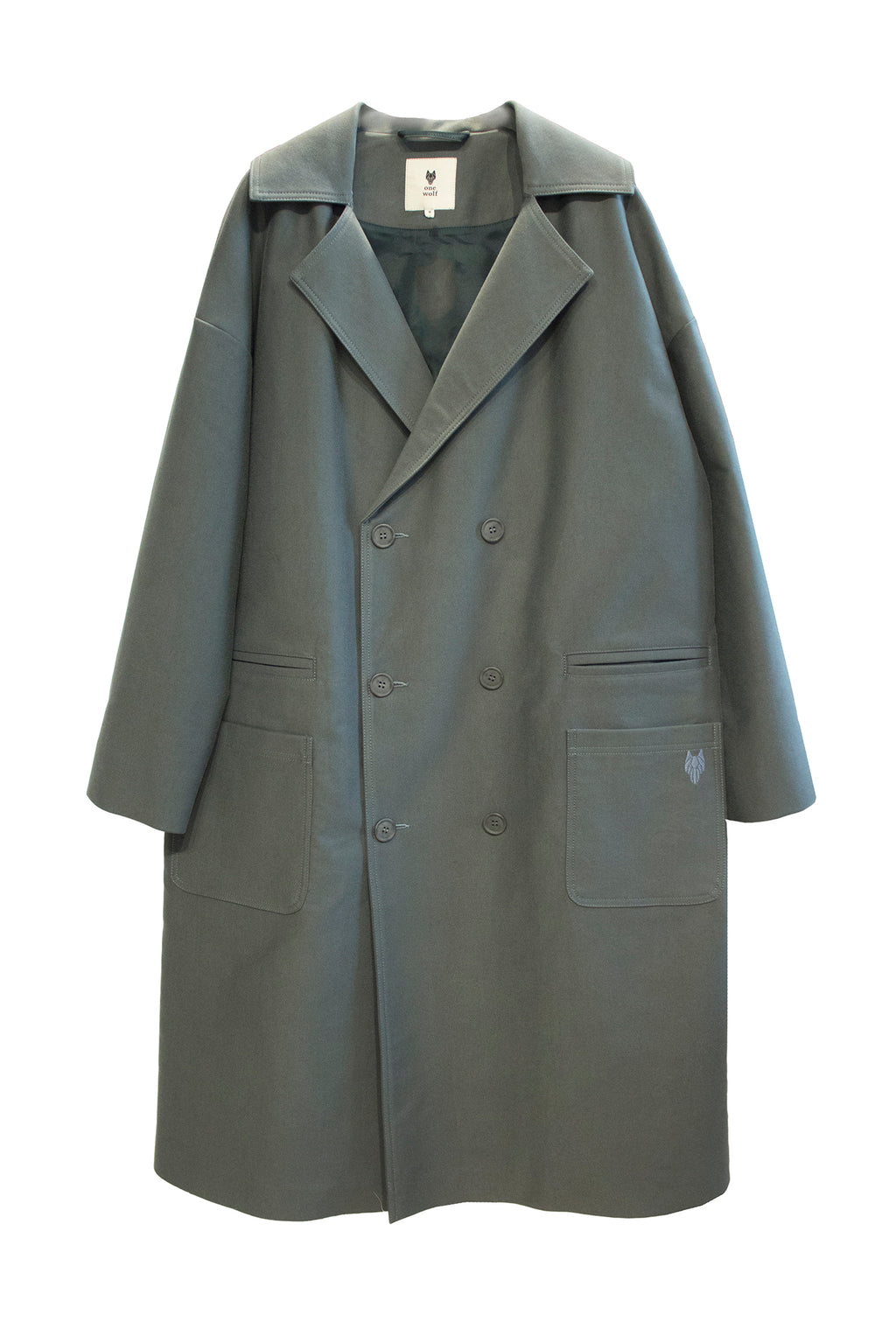 Trenchcoat DARK FOREST Balsam green - One Wolf
