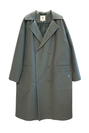 Trench Coat DARK FOREST Balsam green - One Wolf