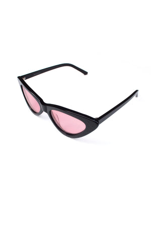 One Wolf Sunglasses BLACK AND PINK