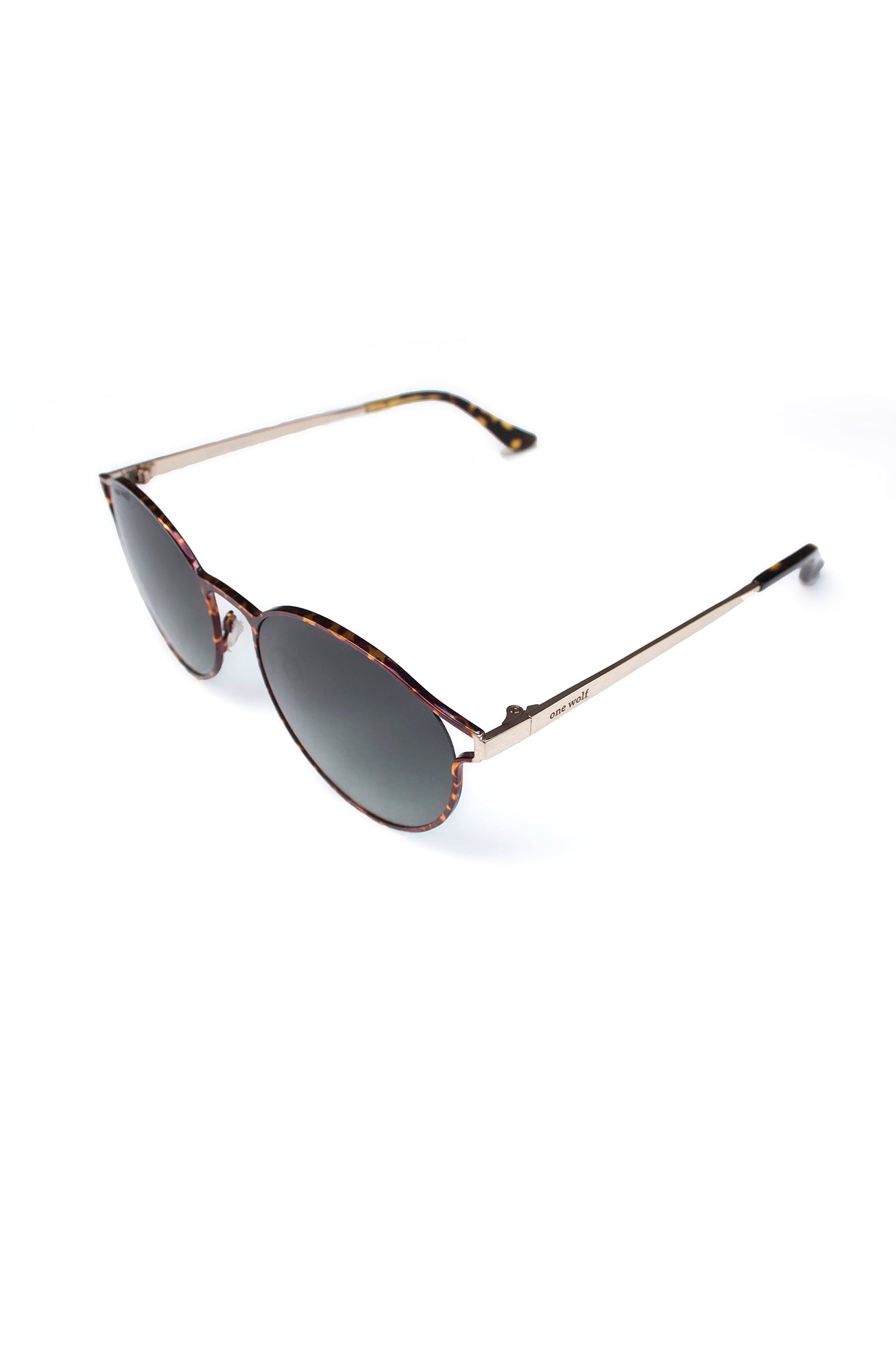 One Wolf Sunglasses BLACK GOLD