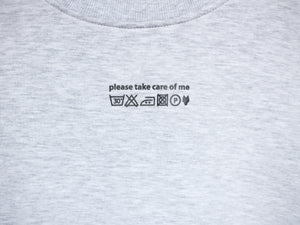 CARE OF ME sweater - grey - One Wolf