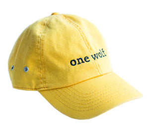 OUTSIDER Cap yellow - One Wolf