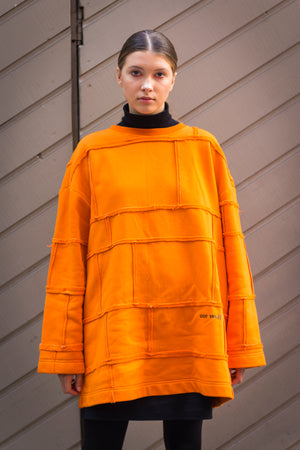 Upcycled Sweater CITY MONK