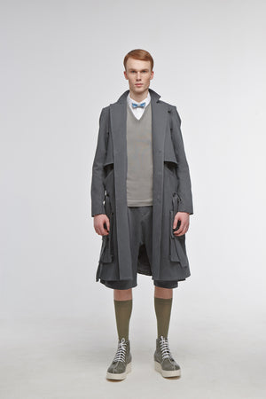 Trench Coat NABOKOV Balsam Green - One Wolf