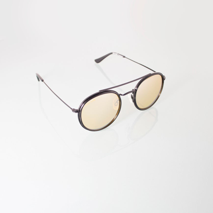 Sunglasses BANANA BLACK - One Wolf