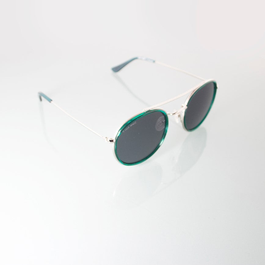 Sunglasses DYNASTY GREEN - One Wolf